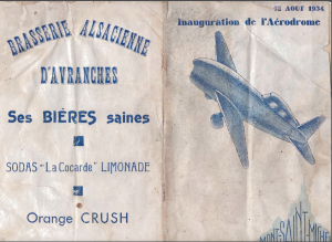 Programme Inauguration Aéroclub d'Avranches